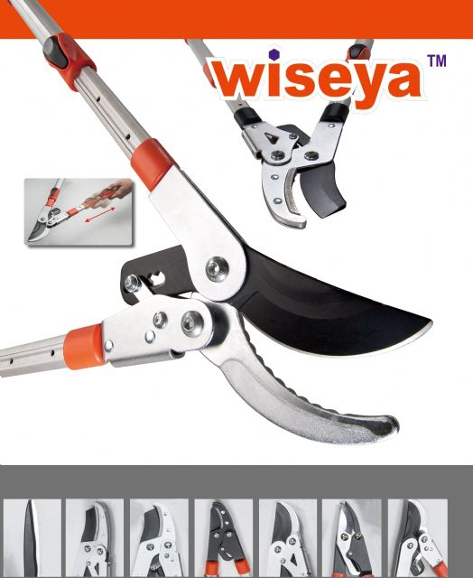Shears with irregularly-shaped handles are Wise Center's R&D focus this year.