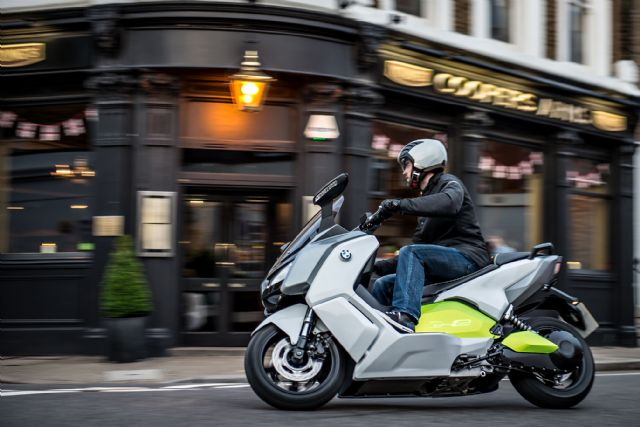 Electric scooters are likely to be more popular in EU driven by government subsidies to make them more affordable. (photo of a BMW e-scooter)