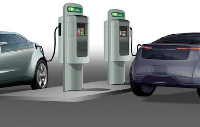 Navigant Research says worldwide revenue from EV charging services is expected to total US$11.3 billion between  2014 and 2023. (photo from Internet)