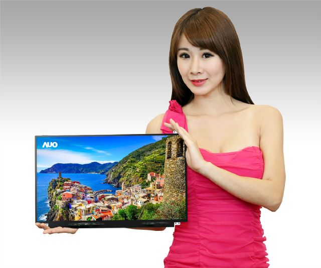 The TFT-LCD panel maker's 17.3-inch UHD 4K ultra high resolution LCD for notebook PCs. (Photo from AUO)