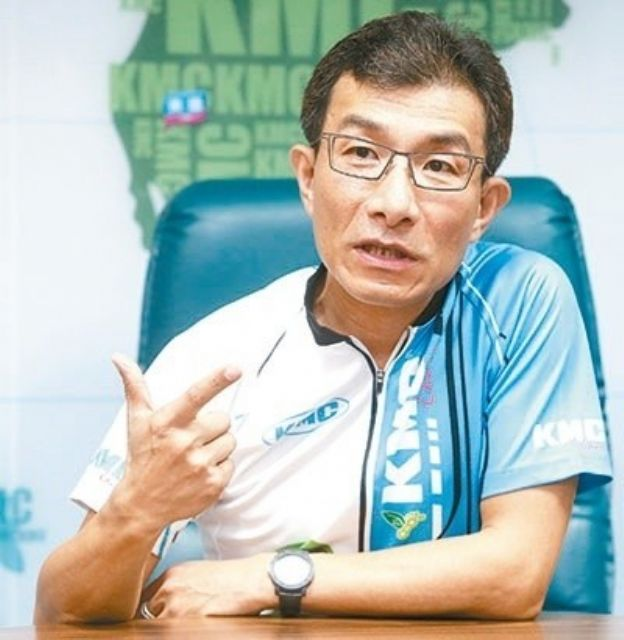 Robert Wu, chairman of KMC, a major bicycle-chain maker headquartered in Taiwan. (photo from UDN)