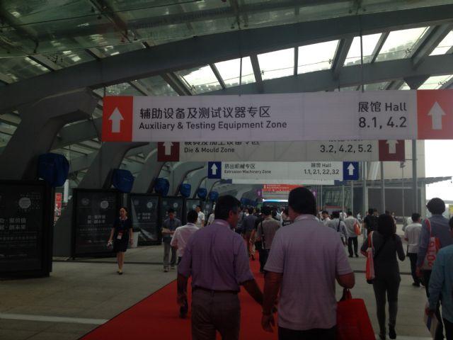ChinaPlas 2015, held May 20-23, in Guangzhou, southeastern China.