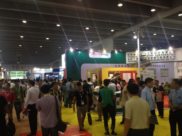 Taiwanese exhibitors in Hall 10.1.