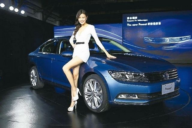 Volkswagen Taiwan, the wholly-owned local subsidiary of Volkswagen Group of Germany, recently launched the new Volkswagen Passat as its first model after its introduction in March. (photo from UDN)