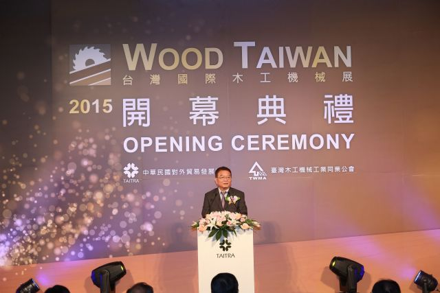 TWMA's Po stresses that Taiwan's woodworking machinery industry needs to develop automated turnkey solutions to increase added-value.