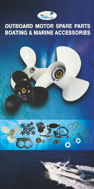 Shyh Yung Fa also offers outboard motor parts, as well as boating and marine accessories.