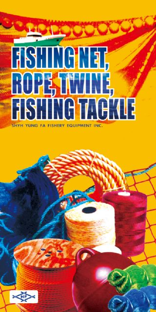 Shyh Yung Fa is a recognized supplier of fishing nets, ropes, twines, and fishing tackle.