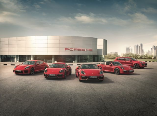 Porsche's model line-up and sales in Asia Pacific totaling  3,316 units, including more than 2,000 in Taiwan.(photo from Porsche)