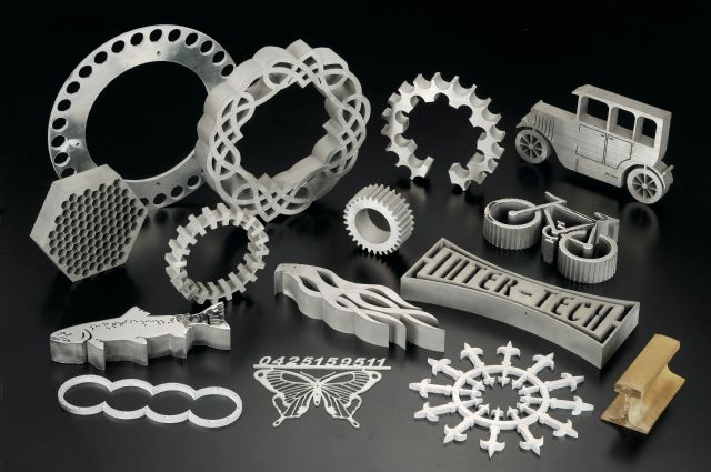 Inter-tech specializes in water-jet cutting, laser cutting, hole punching, shearing, bending, and machining.