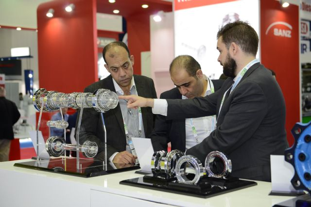 Automechanika Dubai 2015 again proved to the best meeting place between suppliers and buyers in the automotive service market across the Gulf. (photo courtesy of Messe Frankfurt Middle East)