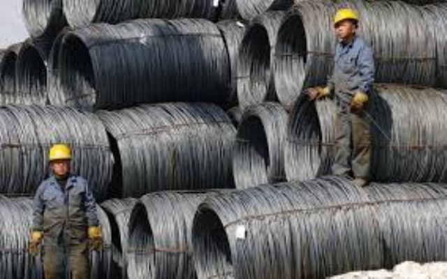 Taiwan's base metal sector has been impacted by Chinese steelmakers' oversupply in past few months. (photo courtesy of UDN.com)