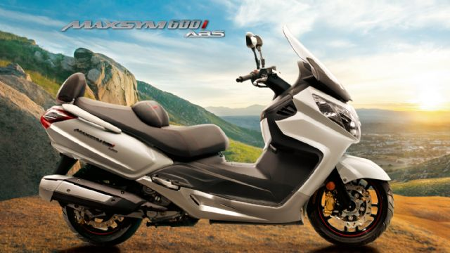 SYM, No. 3 PTW vendor in Taiwan, launches its Maxsym 600i maxi-scooter in Taiwan coupled with many incentives to show determination to win solid foothold in domestic big-displacement scooter market. (photo from SYM).
