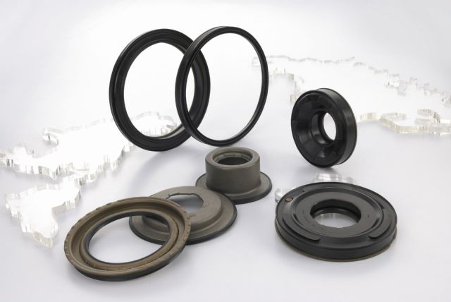 Bonded piston seals