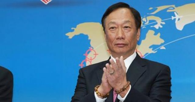 Hon Hai Group Chairman Terry Gou (photo courtesy of UDN.com)