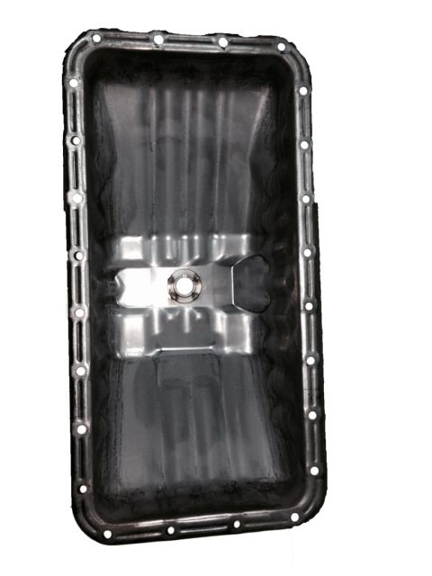 A quality forklift oil pan by LC Fuel Tank.