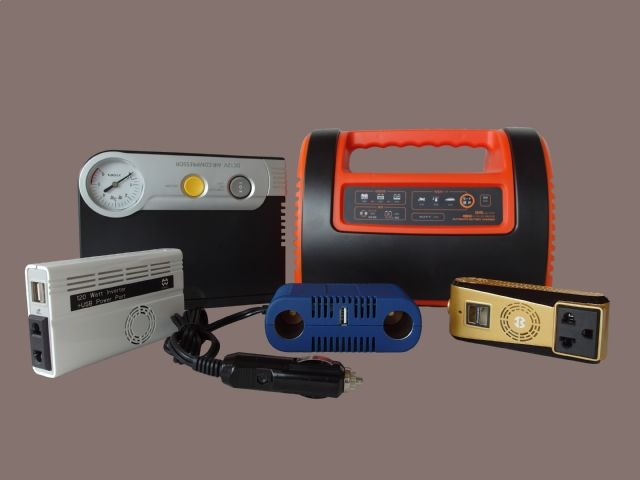 Hunt Power supplies a wide range of automotive equipment, including air compressors, power inverters, power converters, battery chargers, air purifiers, among others.
