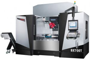 Pinnacle BX700 5-axis CNC machining center.