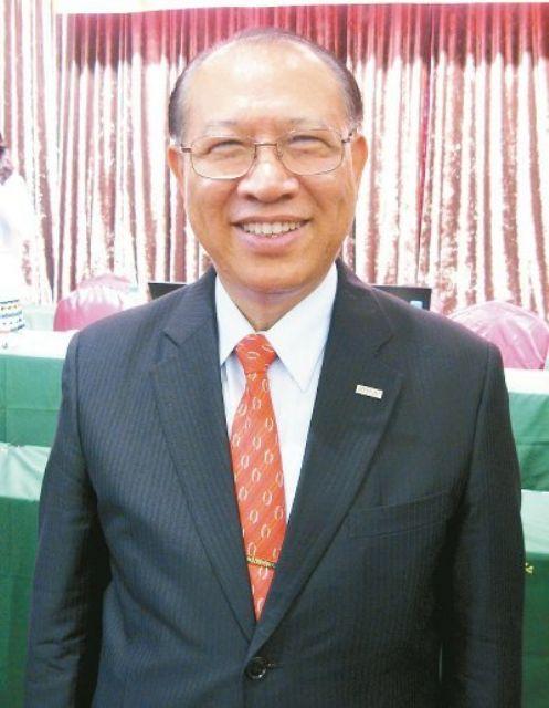 Eric Cho, chairman of Hiwin Technologies and Taiwan Machine Tool & Accessory Builders' Association.