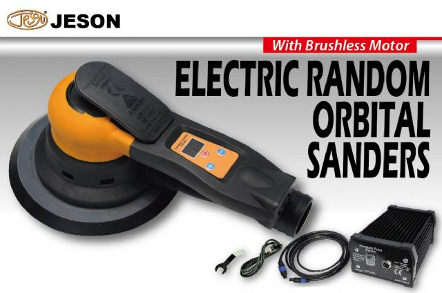 Kae Dih's JESON Electric Random Orbital Sander (central vacuum type).