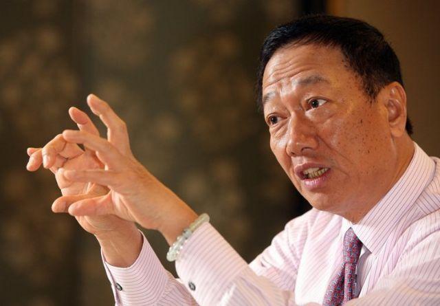 Hon Hai Group Chairman Terry Guo.
