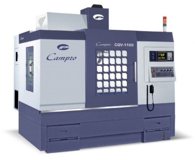 CPV series vertical machining center from Campro Precision Machinery.