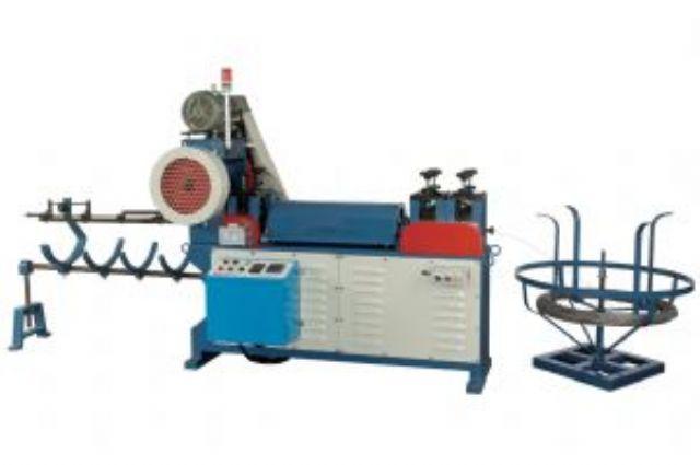 Wire straightening & cutting machine designed by Forng Wey