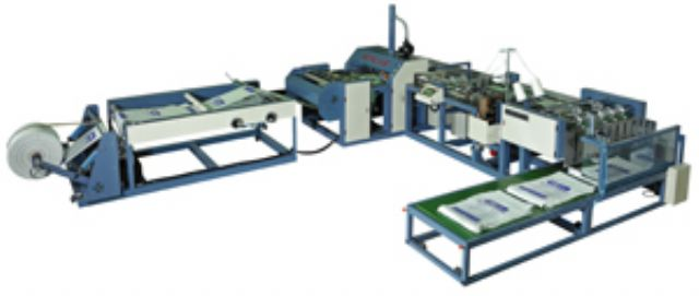Sencar's automatic woven-bag cutting and sewing machine is among its hot-sellers in the global market.