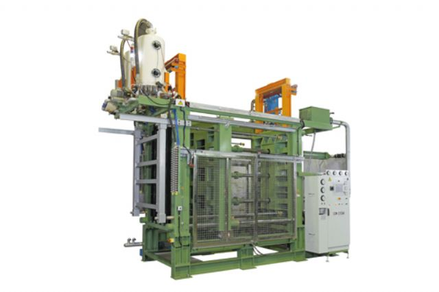 The fully automatic EPS/EPE shape-molding machine (AV-J series) from Shiuh-Chuan