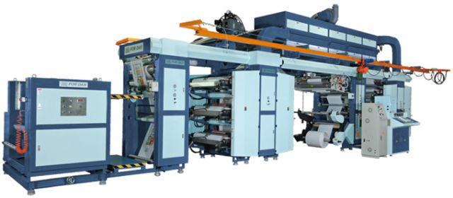 For Dah's 12 color (C.M.Y.K.) roll-to-roll printing machine for PP woven and PP-coated woven fabric