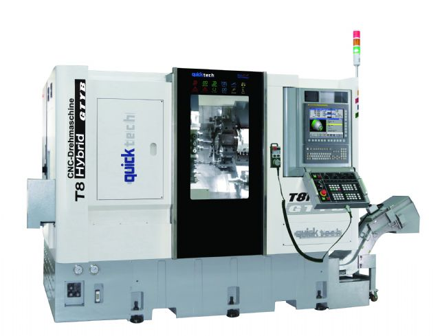 A user-friendly CNC turning-milling combo from Quick-Tech.