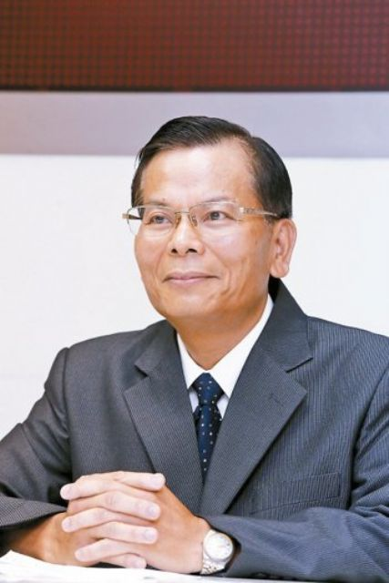 Jiang Ching-hsing, president of Nankang Rubber, a major tire maker in Taiwan. (photo from UDN)