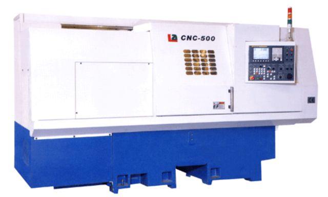 Liouy Hsing's CNC-500 lathe.