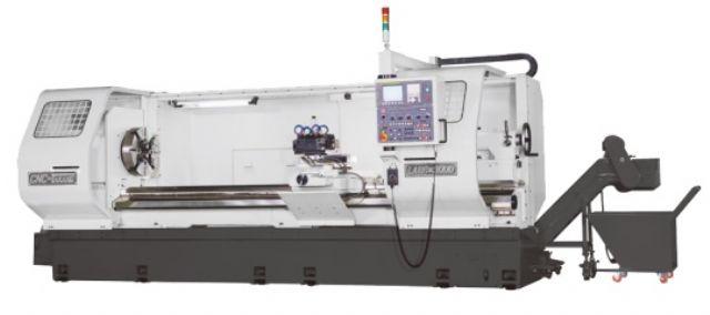 Heavy-duty CNC lathe developed by CNC Takang.