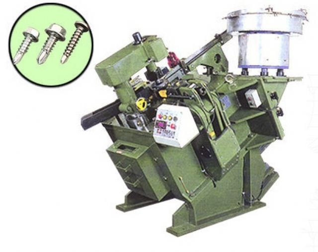 Konfu specializes in fastener-making machines.