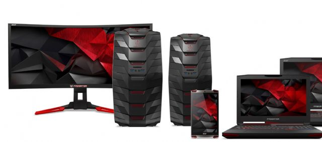 Acer's new Predator gaming devices announced at 2015 IFA Berlin. (photo from Internet)