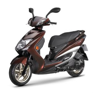 A new scooter model recently launched by Yamaha Taiwan