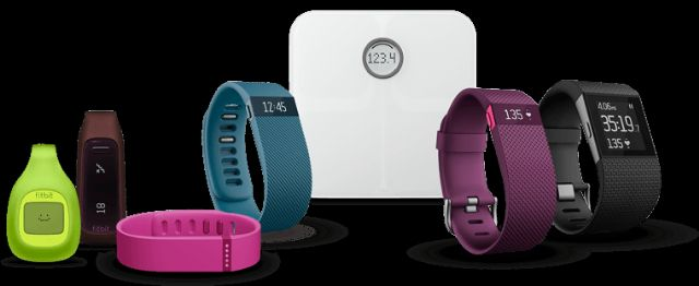 Fitbit, the world's No. 1 wearable vendor, supplies a range of products. (photo from Fitbit)