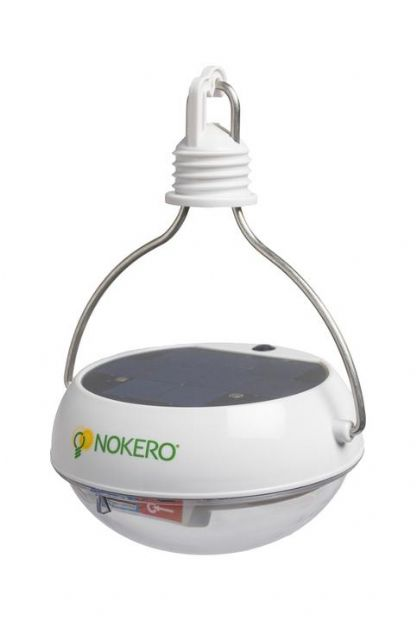 N222 Solar Light Bulb with Phone Charger by Nokero International