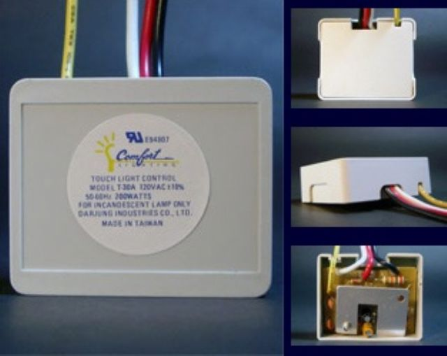 LED touch dimmers from Darjung.