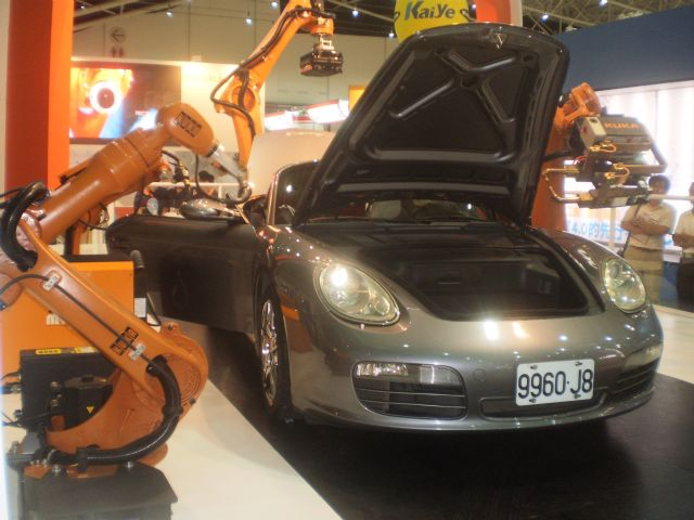 Industrial automation and car production are core parts of China's industrial restructuring and upgrading policy.
