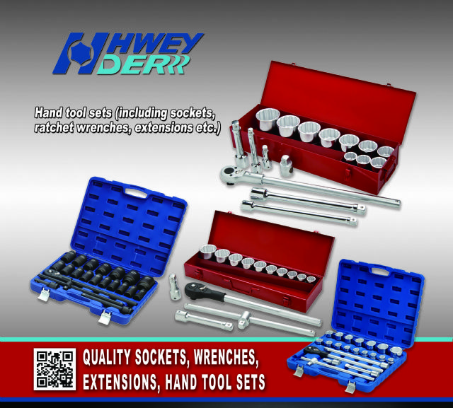 Hwey Der's socket & tool sets are often used to repair and maintain cars, trucks and watercrafts.