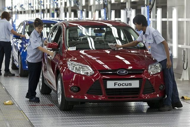 DOS says that the automotive sector is one of the few in Taiwan expressing optimism toward September. (photo from UDN)