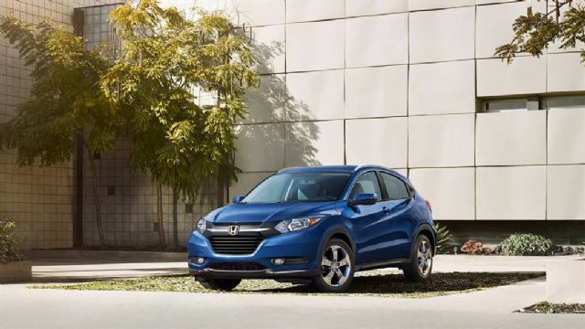 The Honda HR-V crossover is expected to be locally- produced in Taiwan from 2016. (photo from Honda)