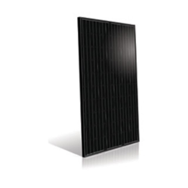 AUO's SunVivo PM060MB1 mono-crystalline module has a high conversion efficiency of 17.7% and generates more power under weak lighting conditions. (photo from AUO)