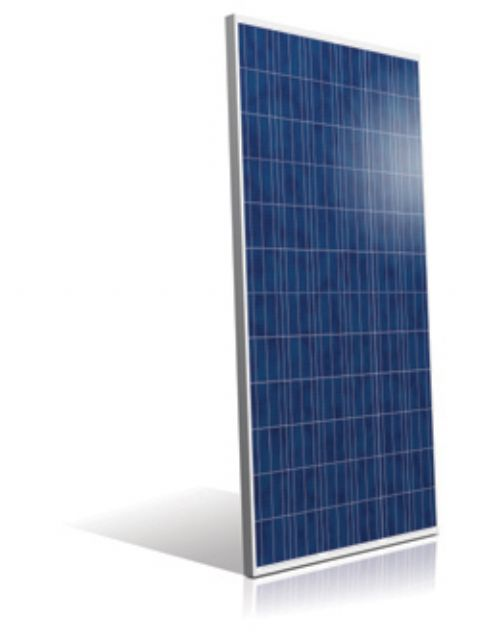 AUO's SunPrimo PM072PW0 is a 72-cell multi-crystalline module specifically designed for large scale power plants, boasting a power output of up to 315W. (photo from AUO)