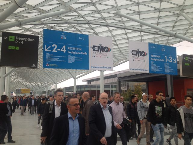 EMO Milano 2015 draws over 150,000 visitors during its 6-day run beginning October 5 in Milan, Italy.