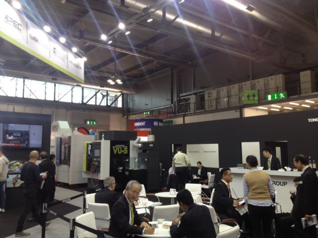 Tontai's booth in Hall 2 draws influx of buyers interested in  the UV-5.
