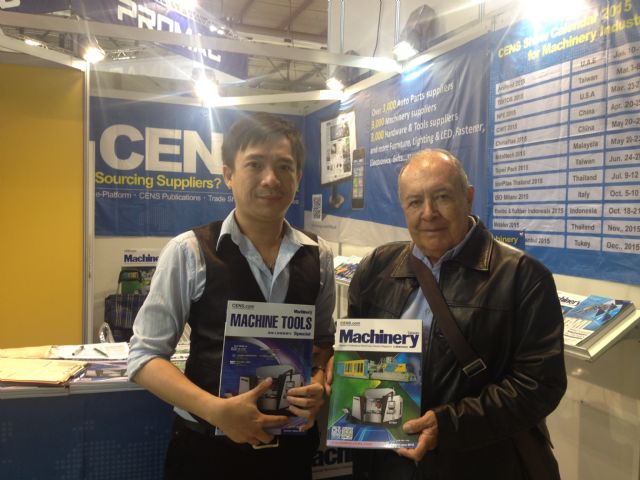 CENS buyer guides continue to be welcome among foreign buyers sourcing quality, high-performance machine tools from Taiwan.