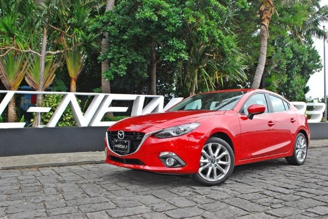 Mazda Taiwan ranks the No. 5 auto vendor in October by selling 2,155 new cars, of which the imported Mazda 3 subcompact and CX-5 SUV account for the majority. (photo of Mazda 3)