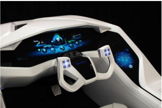Once a luxury equipment seen only in high-end vehicles, display panels in automobiles is becoming increasingly common. (photo from Internet)